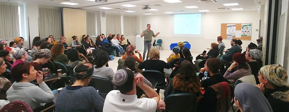 Workshop for preventing violence in the workplace at Shaare Zedek