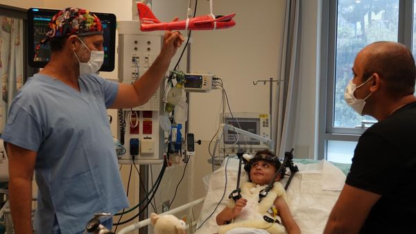 Shaare Zedek Performs Complex Spine Surgery to Save Life of Critically Injured Boy