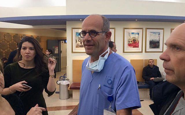 Jerusalem Hospital Chief Voices Cautious Optimism Over Virus Statistics
