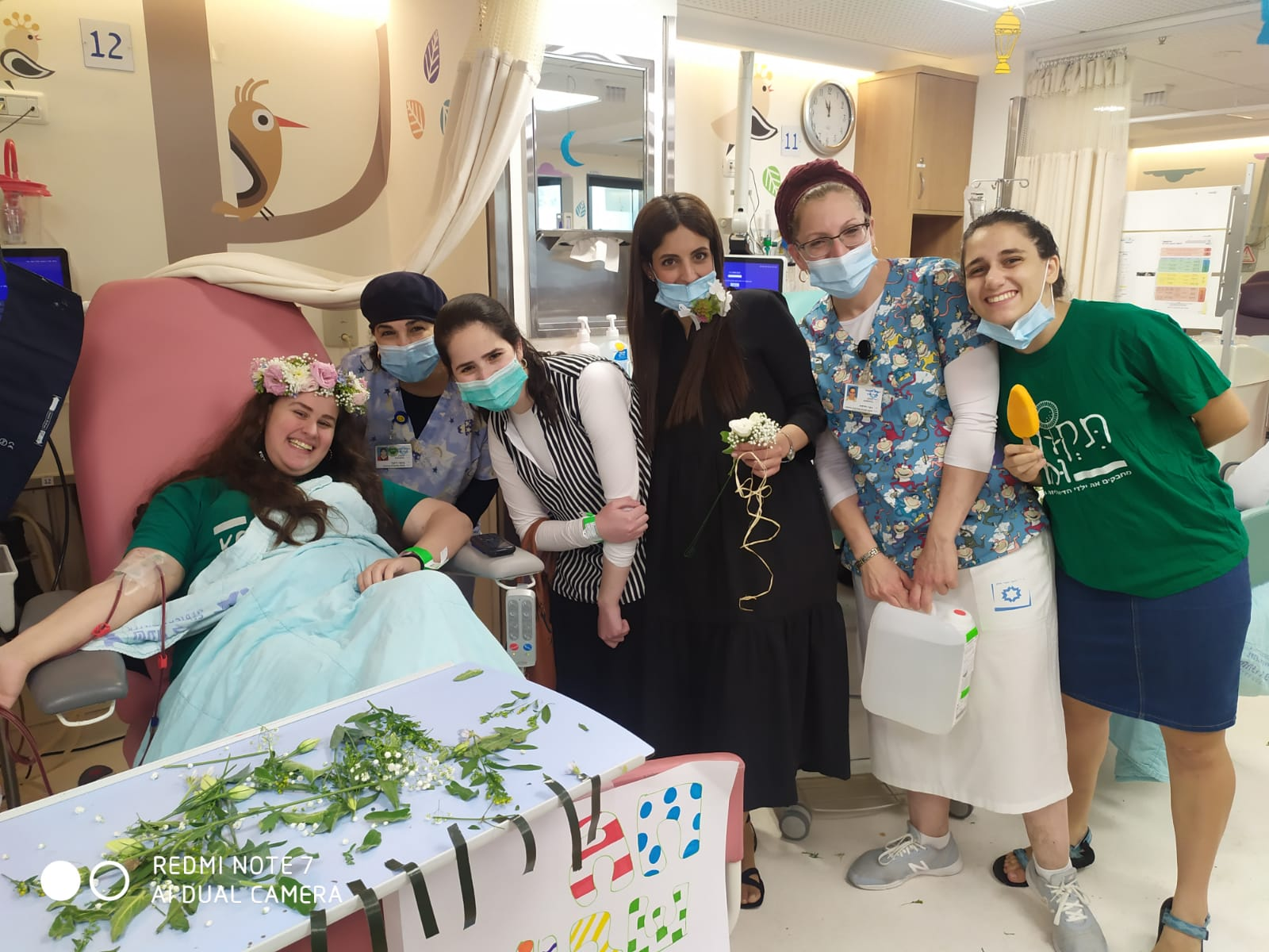 Happy Shavuot from our pediatric dialysis patients!