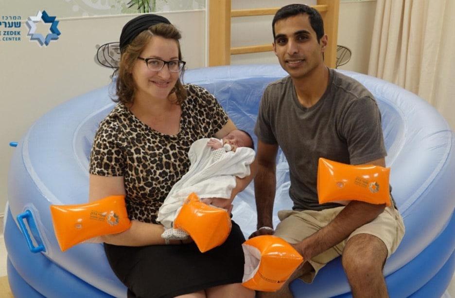 Jerusalem-based Israeli hospital Records 300th Water Birth